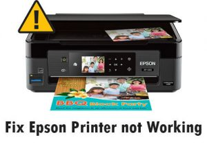 Easiest Way to Fix Epson Printer not Working Problem