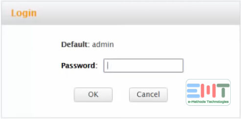 You will be navigated to a login window