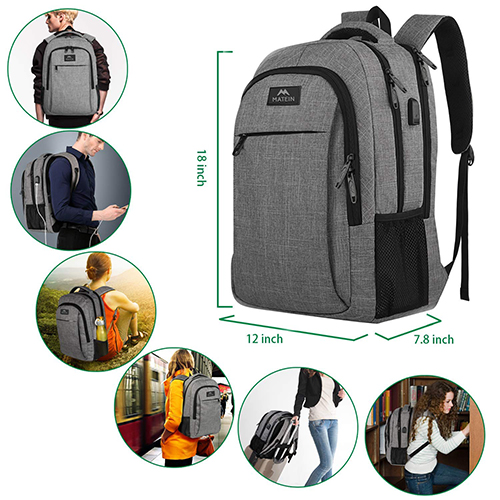 Matein Laptops Backpack fetures and design