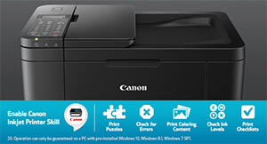 Canon TR4520 Wireless All In One Inkjet Printer
