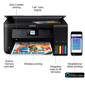 Epson ET-2750 EcoTank Wireless Printer