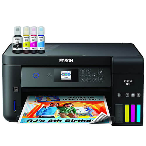 Epson Expression ET-2750 EcoTank Wireless Color All-in-One