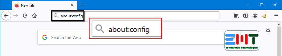 Type about config in URL